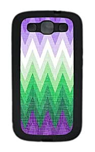Samsung S3 Case patterns abstract colors parallax 1 1 3 TPU Custom Samsung S3 Case Cover Black