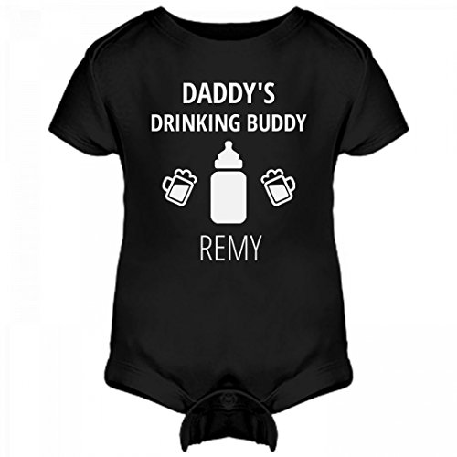 Remy Beer (FUNNYSHIRTS.ORG Daddy's Drinking Buddy Remy: Infant Rabbit Skins Lap Shoulder Creeper)