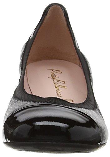 Shade Ballerinas Negro Coton Bailarinas Negro Pretty para Shirley Negro Mujer Black 1awwYd