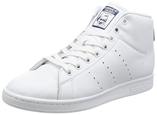 Mid Unisex Blue Fitness Footwear Stan Dark Bianco Adulto adidas White Scarpe da Smith SnUwRFT