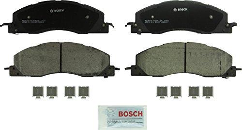 Bosch BC1399 QuietCast Premium Ceramic Front Disc Brake Pad Set