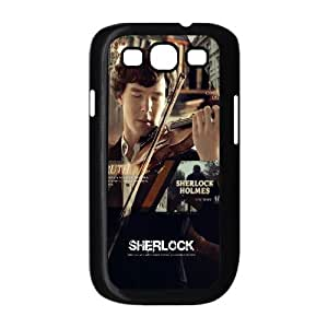 J-LV-F Phone Case Sherlock Hard Back Case Cover For Samsung Galaxy S3 I9300