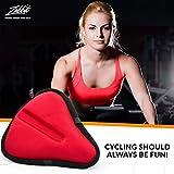 Bikeroo Large Exercise Bike Seat Cushion