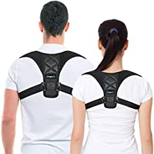 Best Posture Corrector & Back Support Brace for Women and Men by BRANFIT, Figure 8 Clavicle Support Brace is Ideal for Shoulder Support, Upper Back & Neck Pain Relief