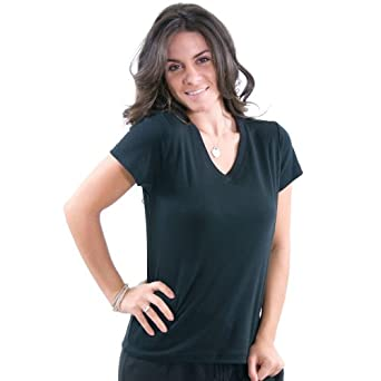 29076df2fc6201 Jockey Solid Tee - Women s at Amazon Women s Clothing store  Apparel