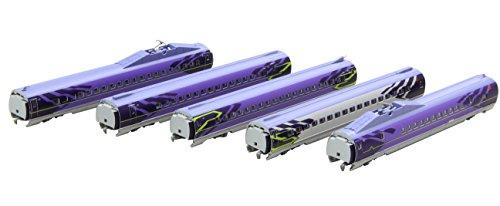 ロクハン Zゲージ T013-5 新幹線 エヴァンゲリオン プロジェクト 500TYPE EVA 5両増結セットの商品画像