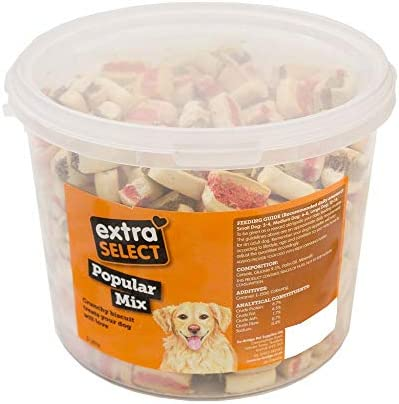 Extra Select Popular Mix Dog Treat Biscuits, 3 Litre – Dogs Corner