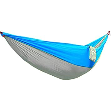 Portable Two Person Cotton Rope Hanging Hammock Swing Camping Outdoor Garden Bed