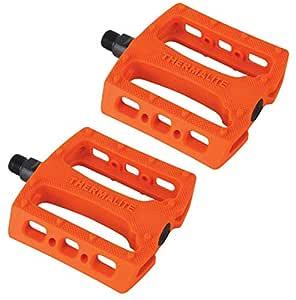 New Stolen Thermalite 9//16 Pedals Neon Orange