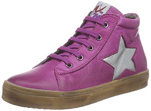 Naturino 3964 Mädchen Hohe Sneakers Pink (MIRTILLO-ACCIAIO  9105)