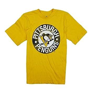 Pittsburgh Penguins NHL Big Boys Vintage Tee - Yellow 82e88c510