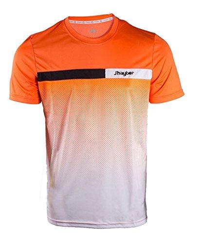 Jhayber Camiseta JHAYBER Naranja Blanca DA3193 901: Amazon ...