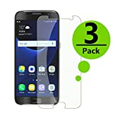 Galaxy S7 Screen Protector Glass, Tempered Glass Screen Protector [NOT S7 Edge] Screen Protector Compatible with Samsung Galaxy S7 (2016),(Clear),(3-Pack)