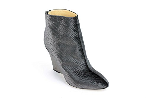 Marvin K Women's Mani Bootie,Grey Velvet,9.5 M US Aquatalia By Marvin K Pumps