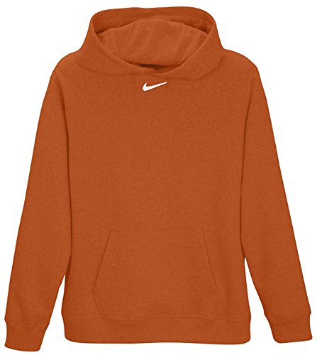 Nike Team Club Fleece Hoody - Sudadera para hombre Burnt Orange/White