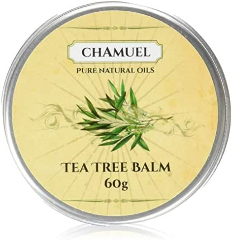 TEA TREE OIL BALM -100% All Natural | Relieves Common Skin Irritations. Great Antifungal Cream for Eczema, Psoriasis, Rashes, Dry Chapped Skin, Cuticles, Hemorrhoids, Saddle Sores and more! Guaranteed