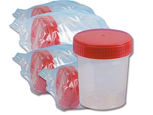 Contenedor de orina, esté ril, 120 ml (paquete de 250) estéril GIMA 25963