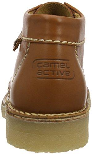 camel active Havanna 13 131.13.01 - Botines Desert de cuero para hombre Marrón