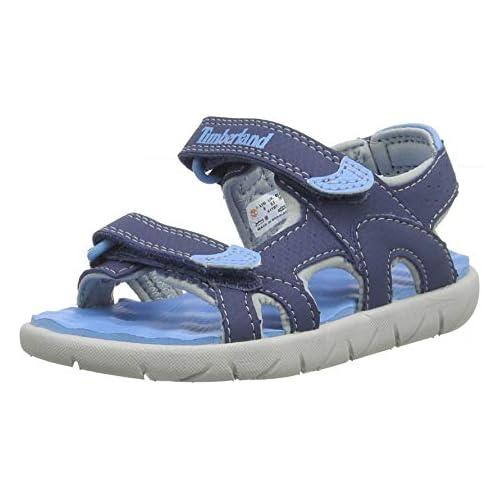 chollos oferta descuentos barato Timberland Perkins Row 2 Strap Sandalias de Punta Descubierta Unisex Niños Azul Dark Blue 22 EU