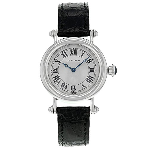 Cartier Diablo 1463.1 Platinum Hand-Wind Midsize Women's Watch