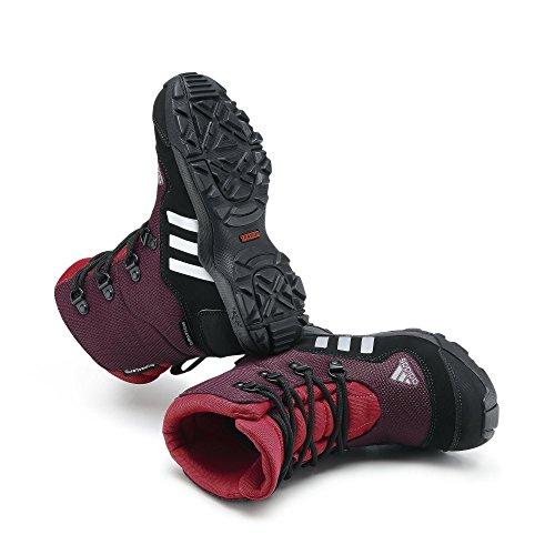 adidas Performance ADISNOW II PL CP K G97128 Unisex-Kinder Trekking- & Wanderschuhe Amazon Red/Tech Grey Met/Vivid Berry (M20022)