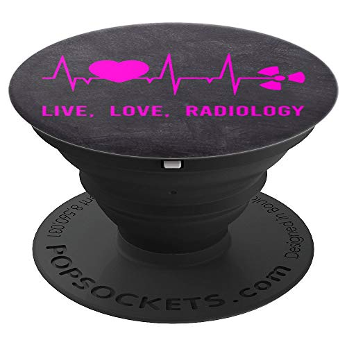 Cute Live Love Radiology Funny X-Ray Tech Gift for Women - PopSockets Grip and Stand for Phones and - X-ray Funny
