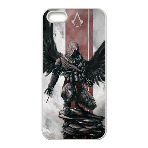 Ezio Auditore Da Firenze 003 coque iPhone 4 4S Housse Blanc téléphone portable couverture de cas coque EOKXLLNCD15857