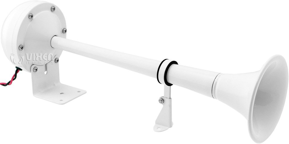 Vixen Horns VXH1112MAR-W Air Horn White