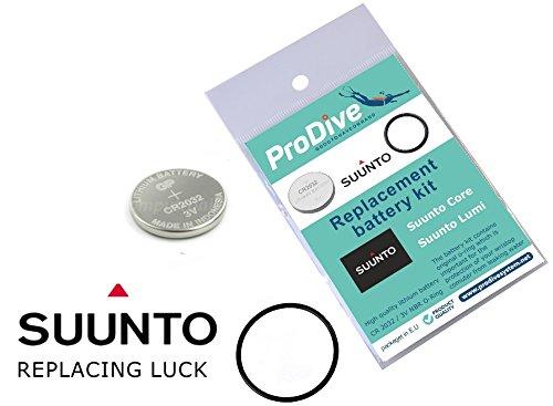 ProDive Suunto Suunto Core Lumi Battery Kit ProDive System