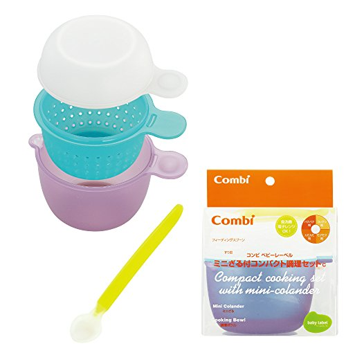 Combi Compact Cooking Set With Mini-Colander