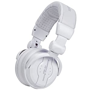 American Audio Hp550 Foldable Professional Headphones White