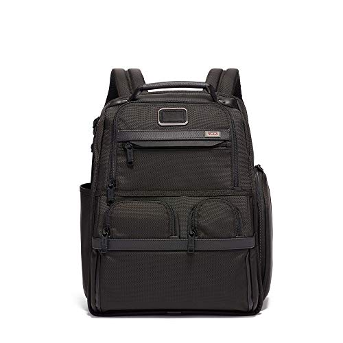 (TUMI - Alpha 3 Compact Laptop Brief Pack - 15 Inch Computer Backpack for Men and Women - Black)