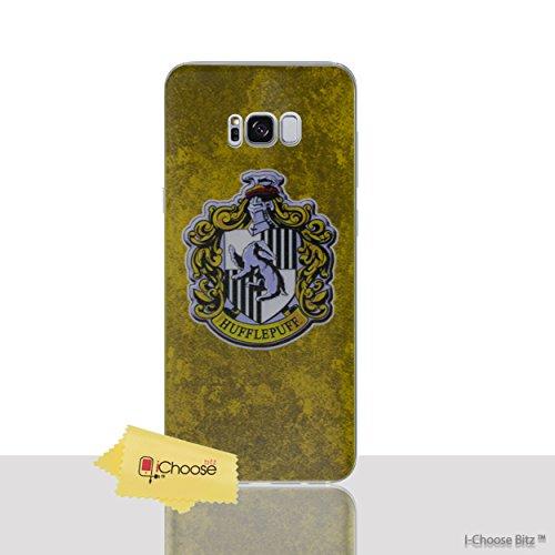 Casas de Harry Potter Funda/Cubierta del Teléfono para Samsung Galaxy S6 Edge (G925) con Protector de Pantalla / Silicona Suave de Gel/TPU / iCHOOSE / Hogwarts Hufflepuff