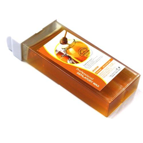 Baisidai Roll-On Refillable Depilatory Heater Wax Waxing Hair Removal Skin Care Honey