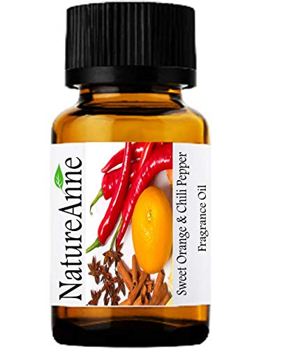 Sweet Orange & Chili Pepper Premium Grade Fragrance Oil - 10ml - Scented Oil - for Diffuser Oils, Making Soap, Candles, Lotion, Home Scents, Linen Spray, Lotion, Perfume, Beard Oil,