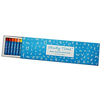 Study Time Oil Pastels Pack of 24