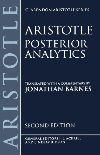 Posterior Analytics (Clarendon Aristotle Series)
