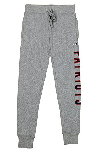 Lounge Pants Womens Nfl (Outerstuff NFL Junior Women's Boyfriend Lounge Jogger, Multiple Teams (New England Patriots, Medium (7-9)))