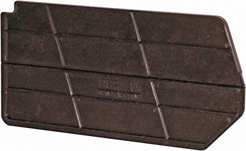 Durham - 2.5'' Wide x 6.9'' High Black Bin Divider for Use with PB30220-6/Case (4 Cases)