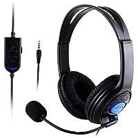 سماعات الألعاب سماعة الرأس السلكيةملليمتر 3.5 قابلة للطي ستيريو باس للكمبيوتر / PS4 سماعات الموسيقى الألعاب