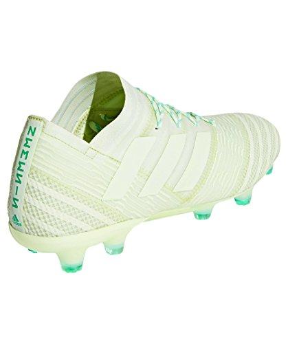 Adidas Mannen Nemeziz 17.1 Fg Voetbal Schoenen, Wit / Zwart, 43 1/3 Eu Groen (aergrn / Hiregr Aergrn / Aergrn / Hiregr)