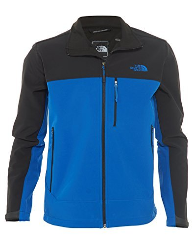 The North Face Mens Apex Bionic Jacket, Monster Blue/TNF Black, Medium by The North Face