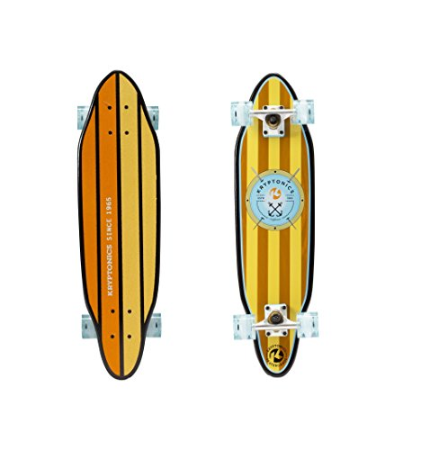 Kryptonics 30'' Cutaway Cruiser Skateboard, Anchors by Kryptonics