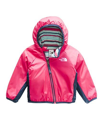 (The North Face Kids Unisex Reversible Breezeway Jacket (Infant) Atomic Pink 18-24 Months )