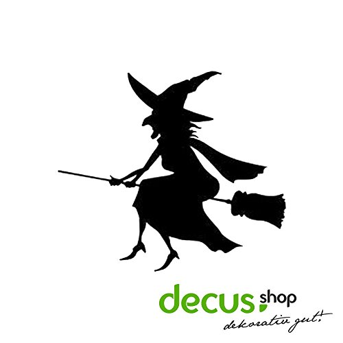 Halloween Witch Hexe // Sicker Decal JDM HQ -