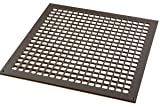 18'' x 18'' Oil Rubbed Bronze Steel Square Design Vent Cover Without Screwholes (20.5'' x 20.5'' Overall)