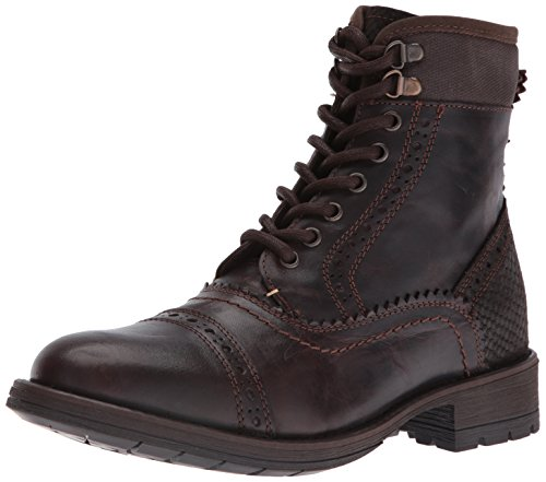 Brown Madden Steve nevins Dark Mens Boot BXBWTcw4q