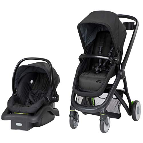 Safety 1st Riva 6-in-1 Flex Modular Travel System with Onboard 35 FLX Infant Car Seat and Base, Grey Canyon