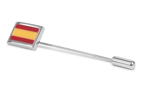 SoloGemelos - Alfiler Corbata Bandera De España - Rojo, Amarillo ...