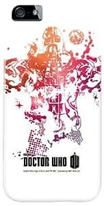 Diabloskinz D 0081-0067-0036 totalmente con tapa para iPhone 5/5S - Ice Warrior